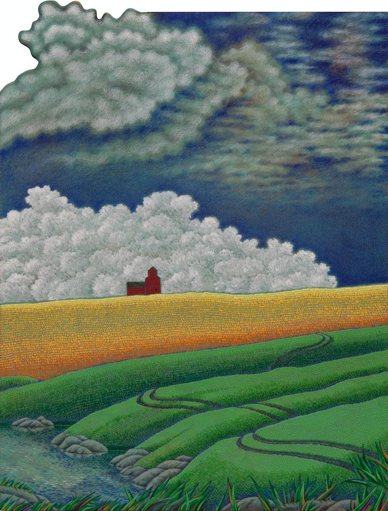 Big Pond (Triptych) Image 4