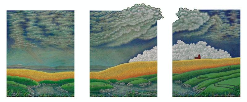 Big Pond (Triptych) Image 5