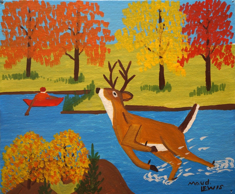 Running Deer Image 1