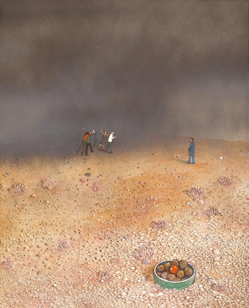 Temptation in the Desert (Bad Companions)