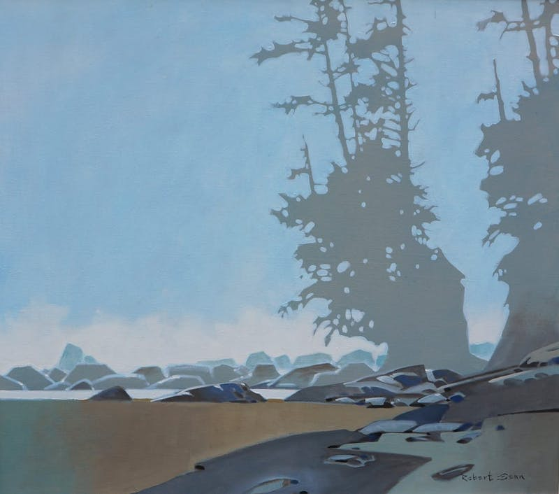 Sea Stack Pattern- Dare Beach on the West Coast Trail Image 1