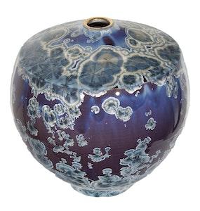Blue and Purple Vase (Anvil Shape)