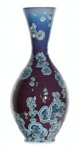 Blue and Purple Vase