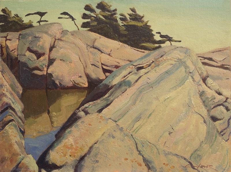 Rocky Landscapes, Georgian Bay Image 1