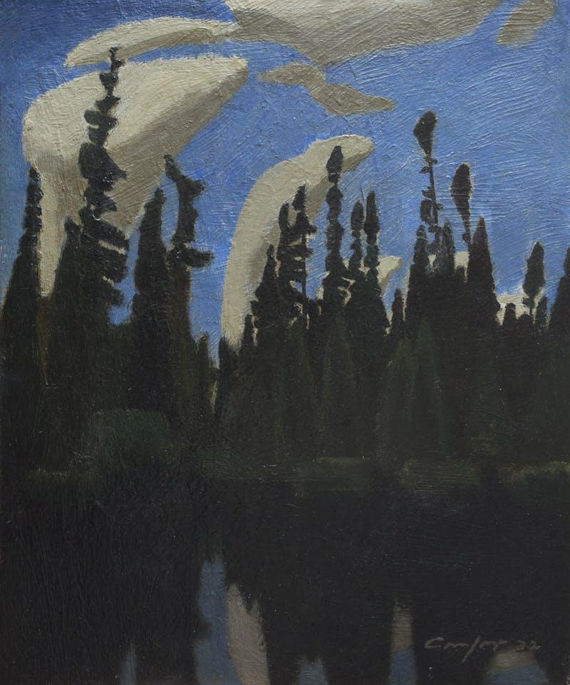 Black Spruce, Pickerel River Image 1