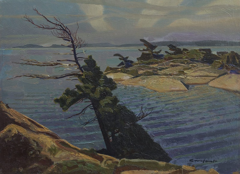 The Varley Tree, Georgian Bay Image 1