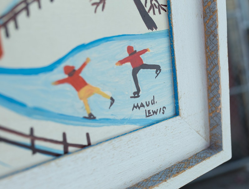 Covered Bridge with Skaters Image 3
