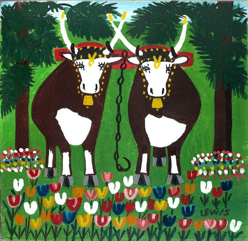 Spring Oxen