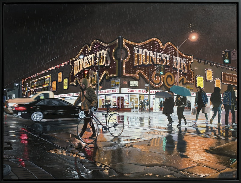Honest Ed's II - Rainy Night