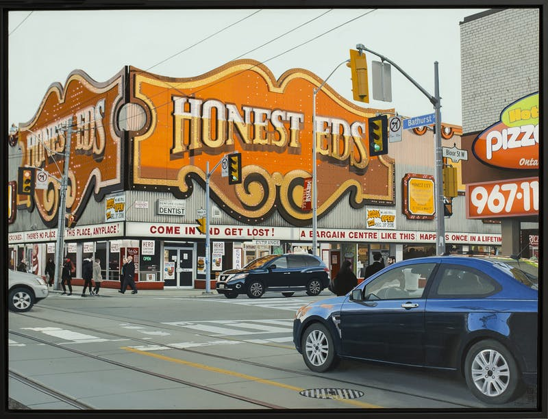 Honest Ed's 1 - Early Evening