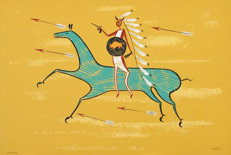 Plains Horseman Image 1