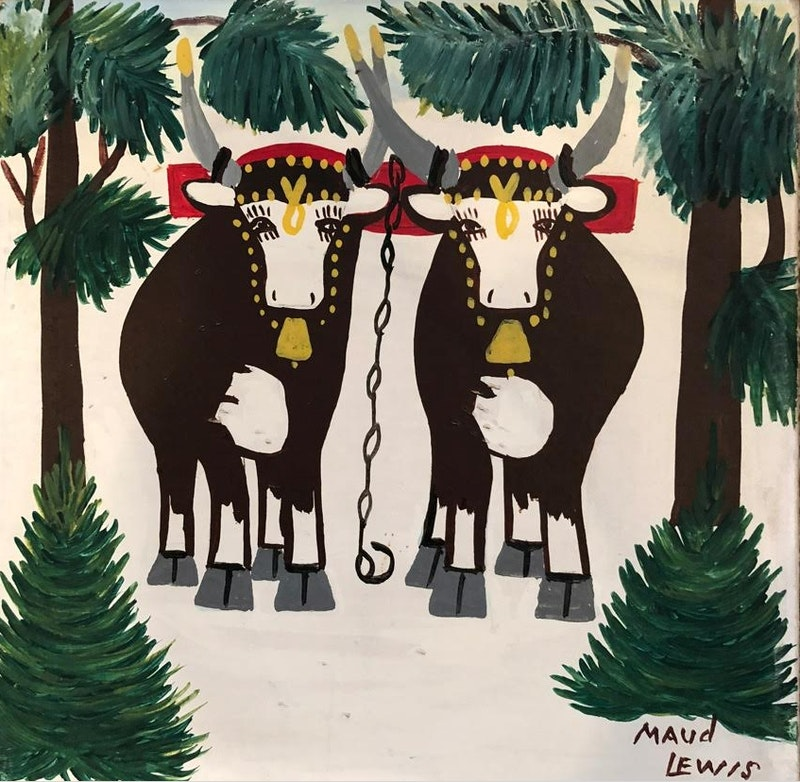 Two Oxen Image 2