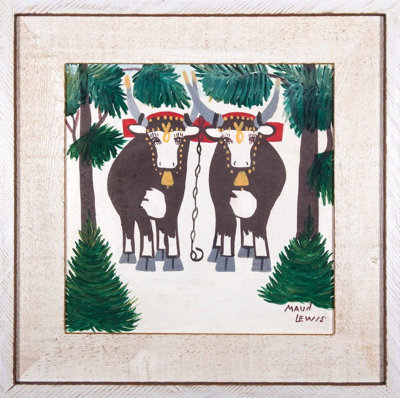 Two Oxen Image 1