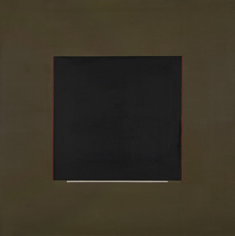 Composition with Black Square