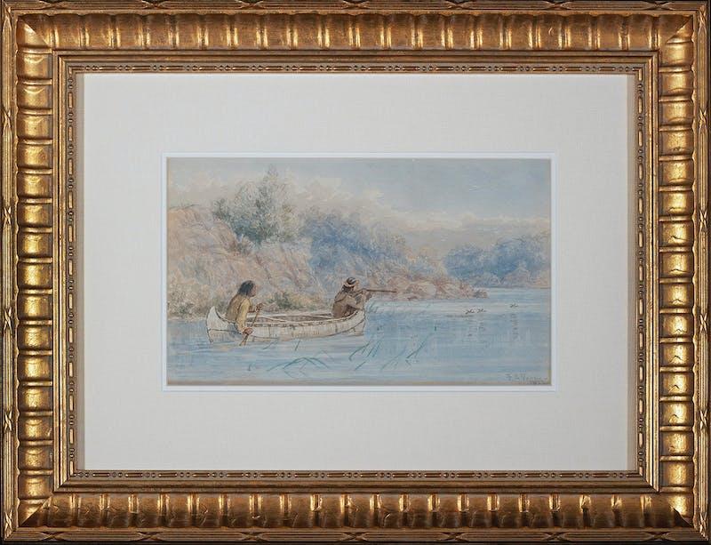 Hunting by Canoe (Northwest angle) Image 2