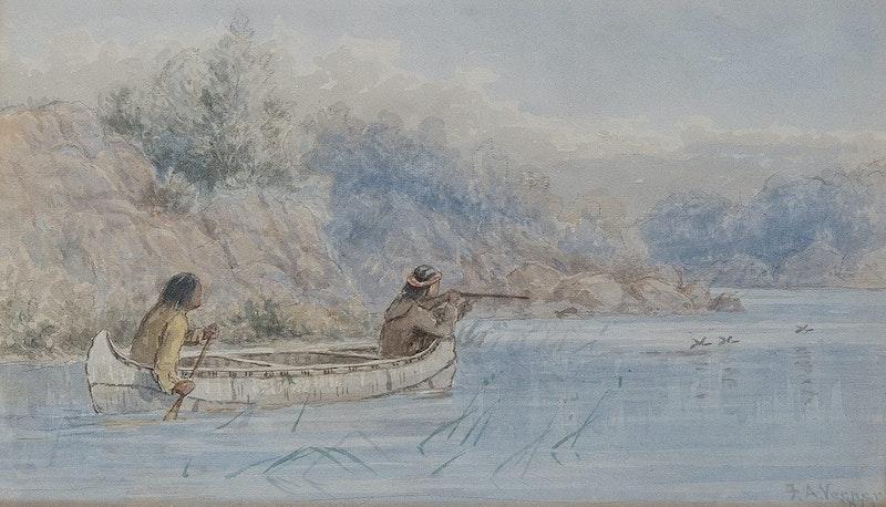 Hunting by Canoe (Northwest angle) Image 1