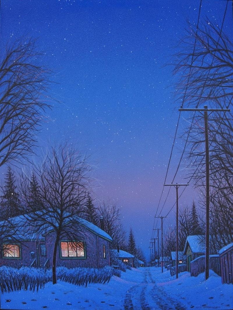 Snowy Night Image 1