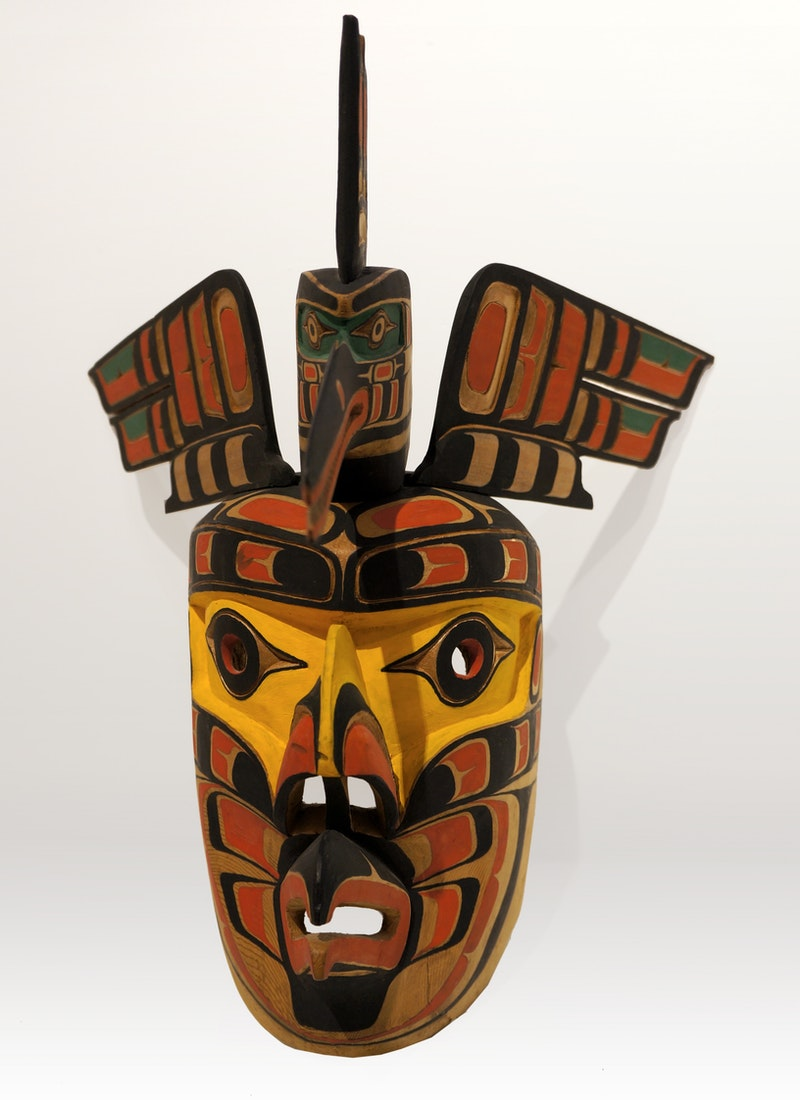 Kingfisher and Eagle Mask Image 2