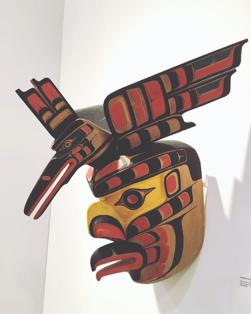 Kingfisher and Eagle Mask Image 3