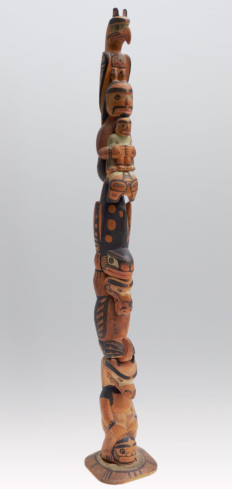 Model Totem Pole Image 3