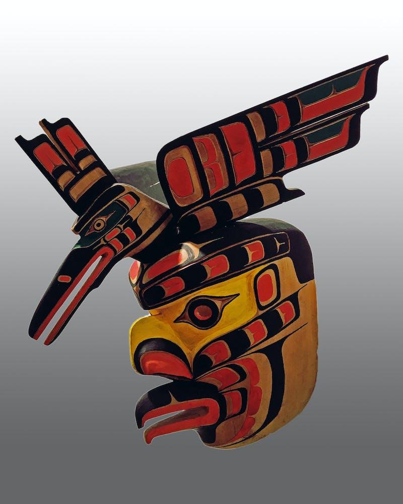 Kingfisher and Eagle Mask Image 1