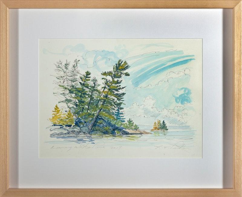 Leaning White Pine Image 2