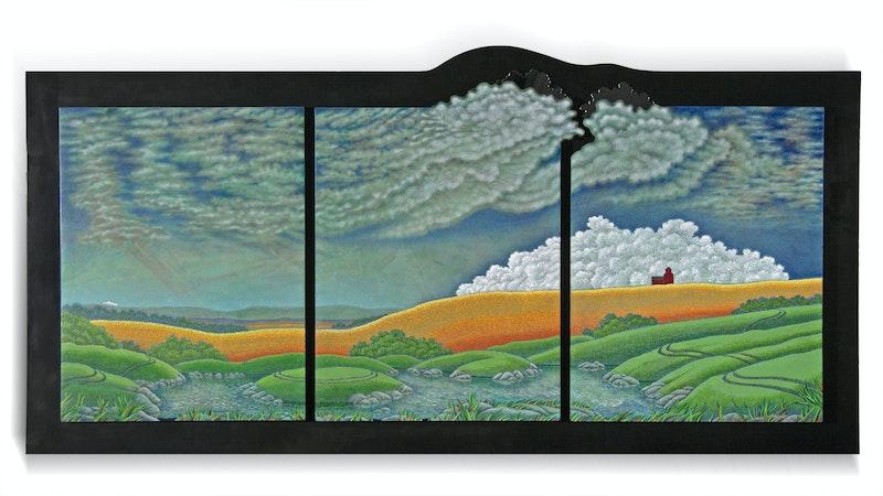 Big Pond (Triptych) Image 1