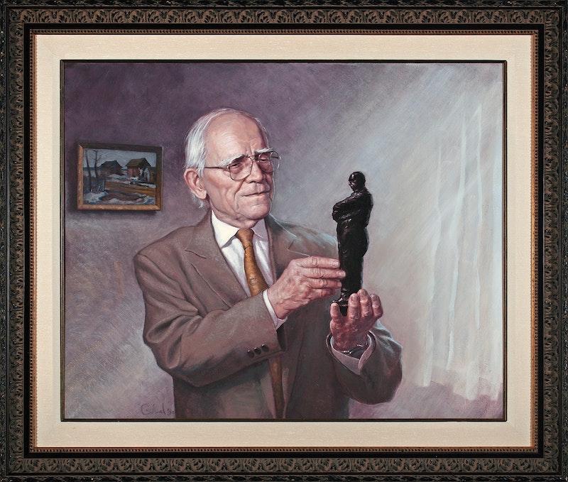 Portrait of Leo Mol (commissioned ) Image 2