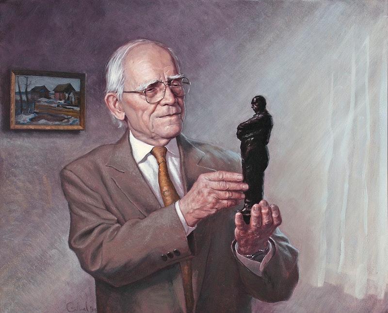 Portrait of Leo Mol (commissioned )