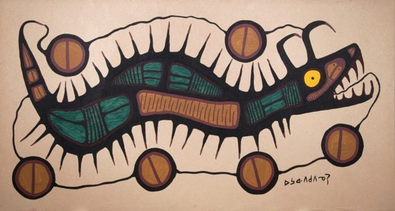 """Untitled (Serpent)"" Image 1"
