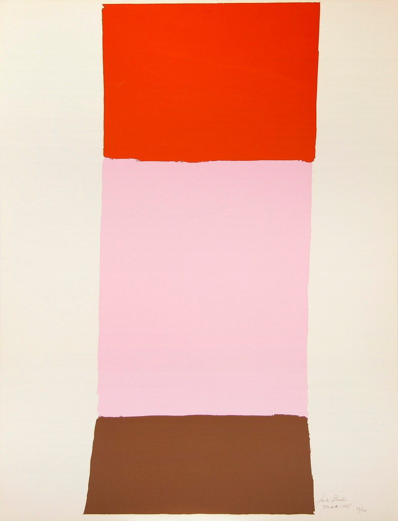 Orange Pink and Brown 32/100