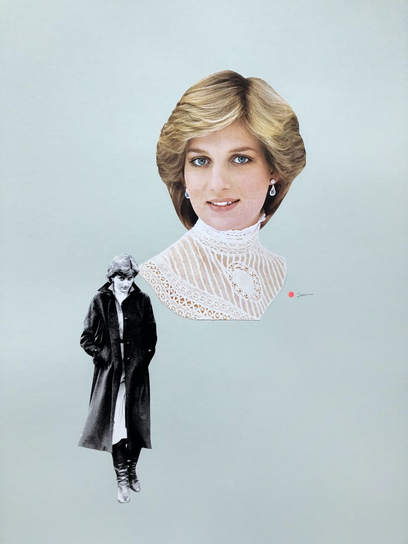 """""""who would buy a portrait of Diana looking like such a badass, they wondered."""" Image 1"""