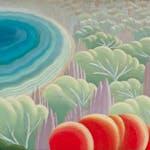 Untitled Landscape by Bertram R. Brooker, 1927 Oil on Canvas - (17 1/4x24 in)