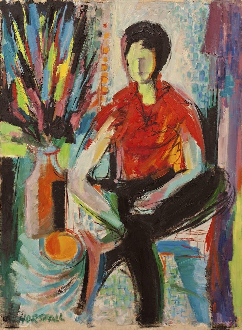 Portrait of Seated Figure