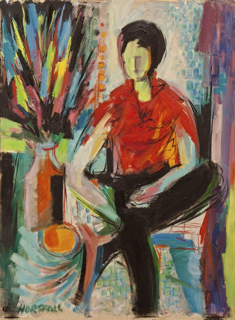 Portrait of Seated Figure Image 1
