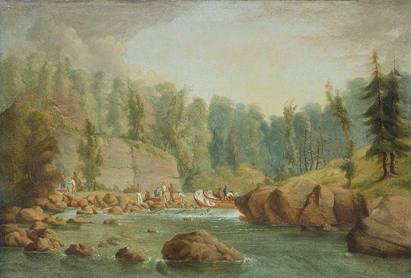 French River Rapids Image 4