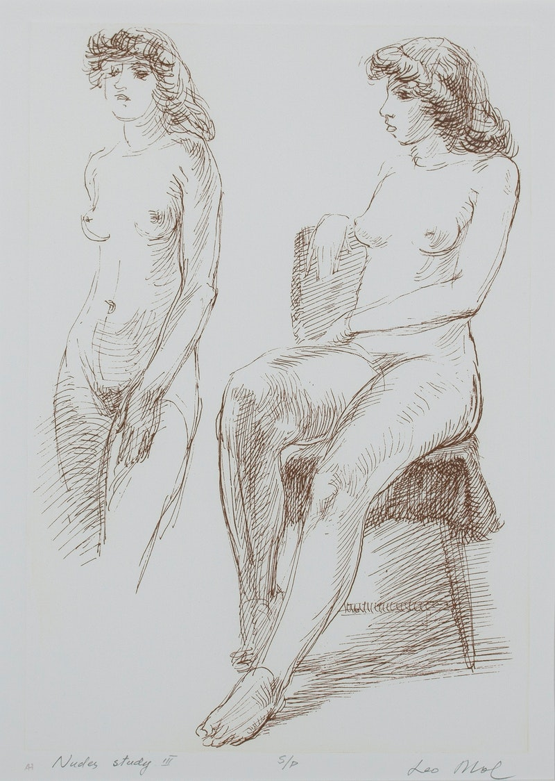 Nudes Study III S/P Image 1