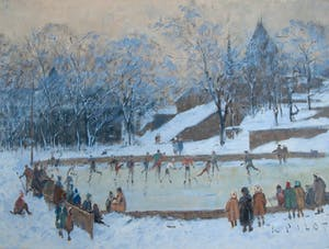 The Skating Rink, Porte Saint-Louis, Quebec