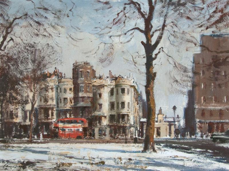 Park Lane, Early February Morning Image 2
