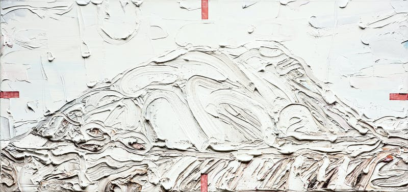Cariboo-Snow Painting 1 Image 1