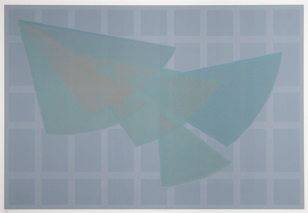 Facade by Tony Tascona Coloured Serigraph - (26x38 in)