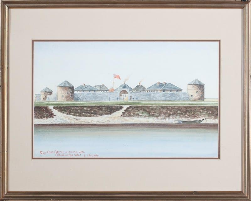 Old Fort Garry Winnipeg 1871 Image 2