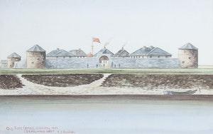 Old Fort Garry Winnipeg 1871