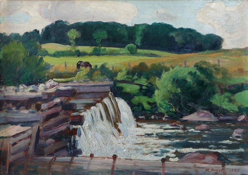 The Mill Dam, Christiville, P.Q. Image 2