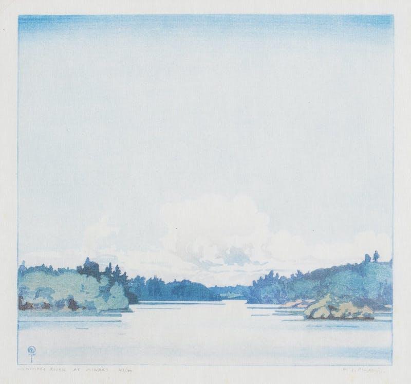 Winnipeg River at Minaki 43/100 43/100 Image 1