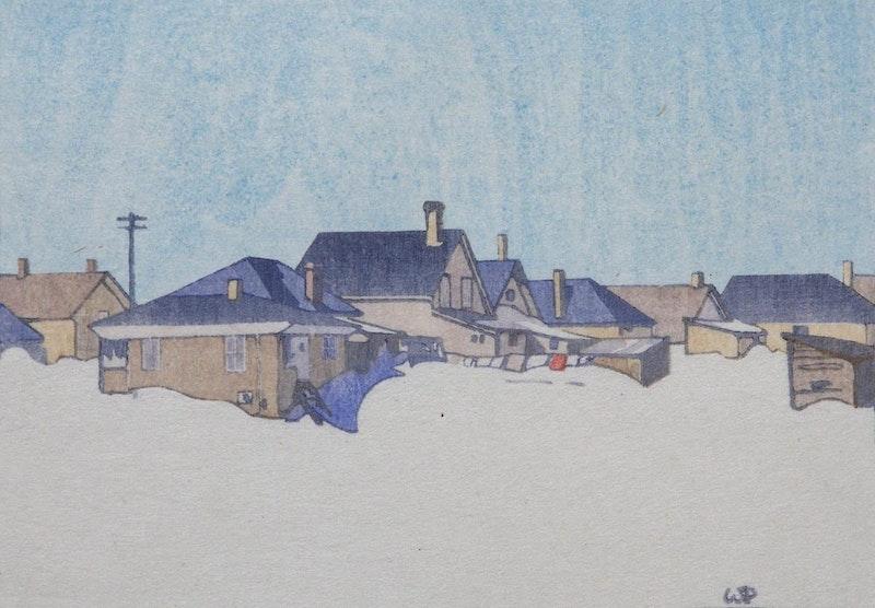 A Winnipeg Street, Snowbound 160/250