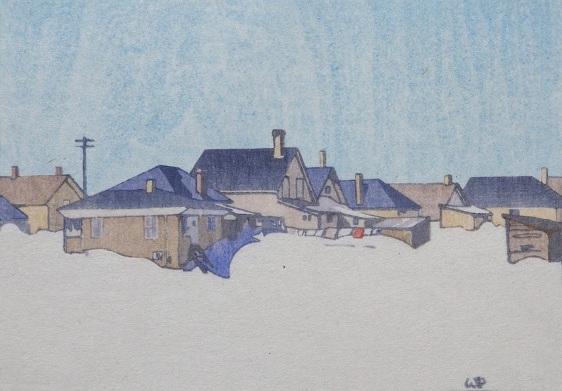 A Winnipeg Street, Snowbound 160/250 Image 1