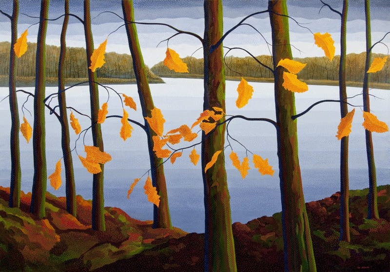 Assiniboine River, Oaks Image 1