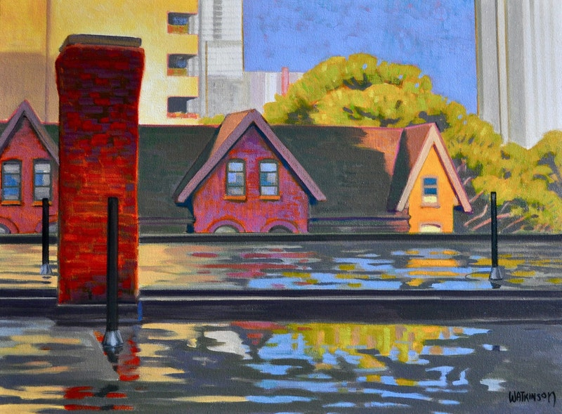 Terry Watkinson - City and Landscapes
