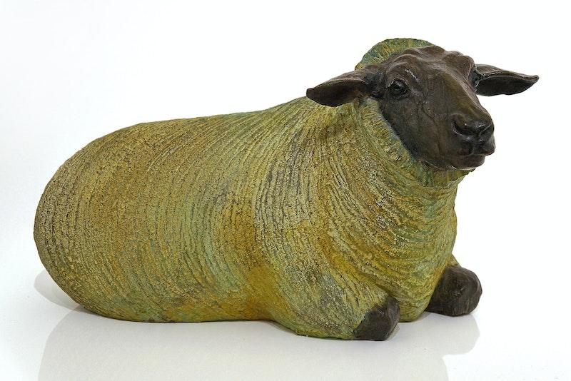 Seated Sheep 2/5
